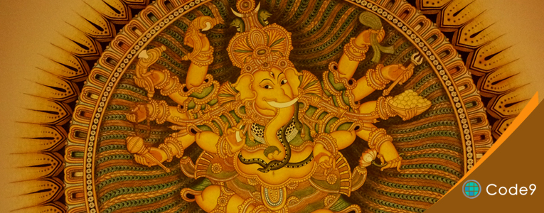 Our new web design for Mural Paintings kerala